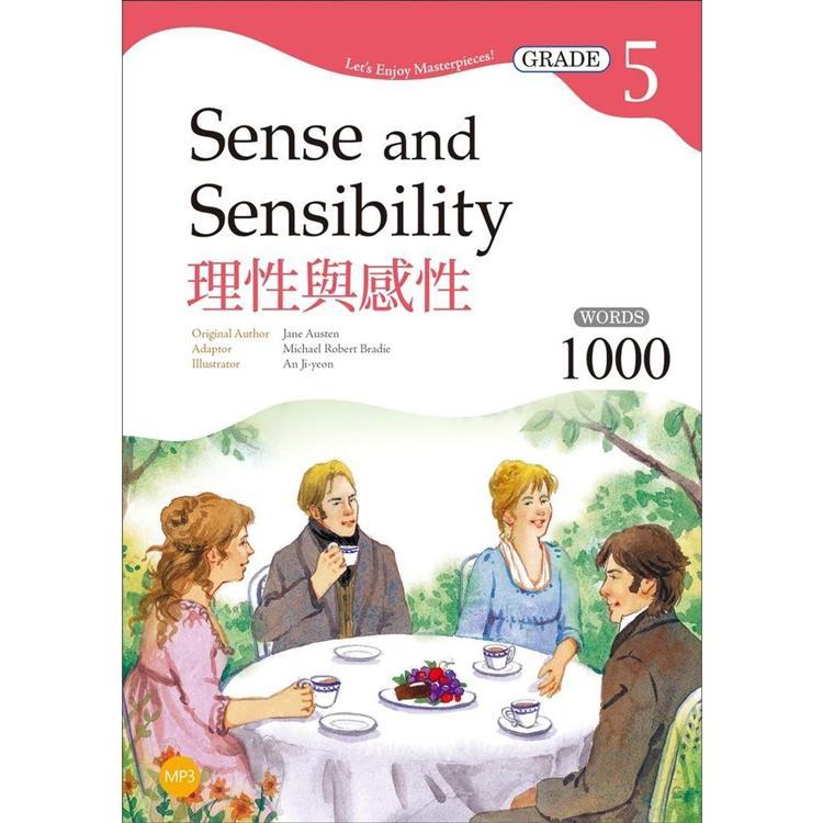 理性與感性 Sense and Sensibility【Grade 5經典文學讀本】二版(25K+MP3)