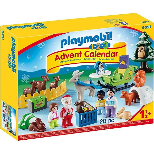 playmobil 聖誕倒數驚喜月曆 123聖誕節_ PM09391