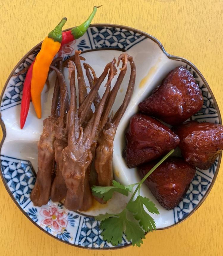 小春園滷味●龍舌鳳尾餐(小)