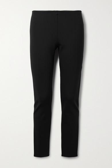 The Row - Woolworth 弹力双罗纹打底裤 - 黑色 - medium