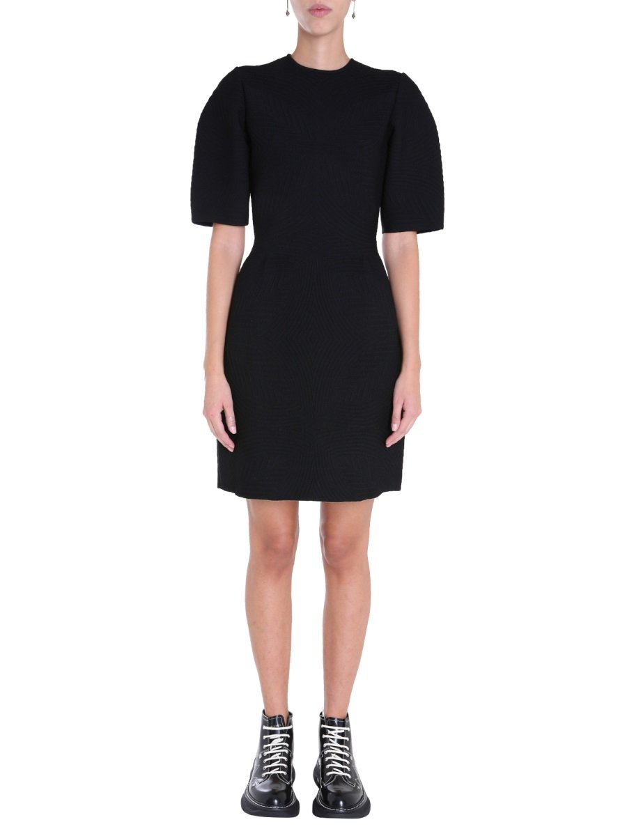 MINI DRESS WITH WIDE SLEEVES