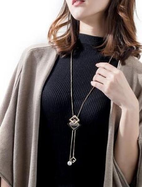 毛衣鏈長款2020年新款百搭簡約女秋冬高檔裝飾品毛衣項鏈配飾掛件