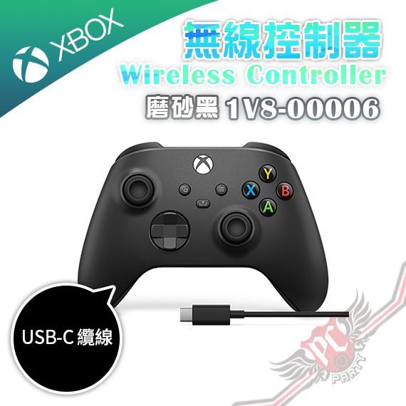 微軟 MICROSOFT XBOX 2020 無線控制器 磨砂黑 1V8-00006 USB-C 纜線