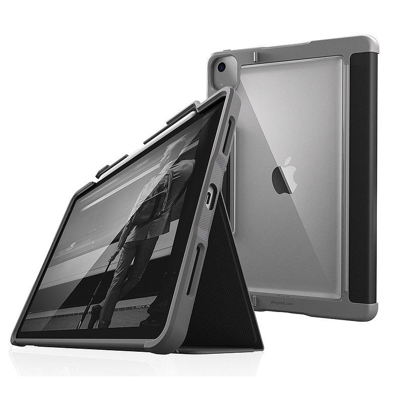 【STM】Rugged Plus iPad Air 10.9吋 (第四代) 保護殼 (黑)