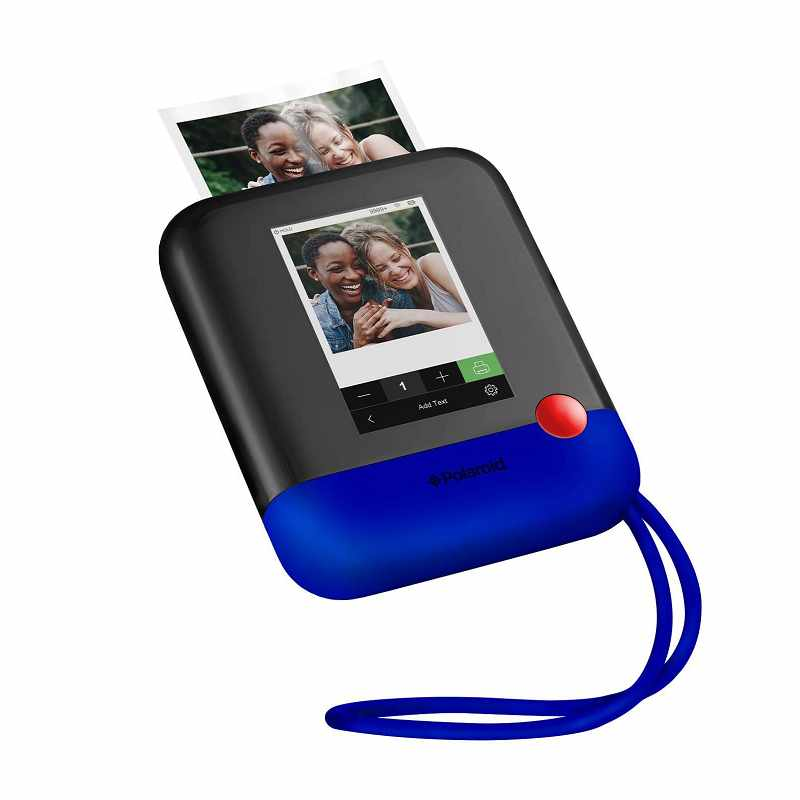 Zink Polaroid Pop 2.0 無線便攜式Instant 相片印表機 Wi-Fi 觸控螢幕 1080p 黑/藍/黃/綠/白 [2美國直購]