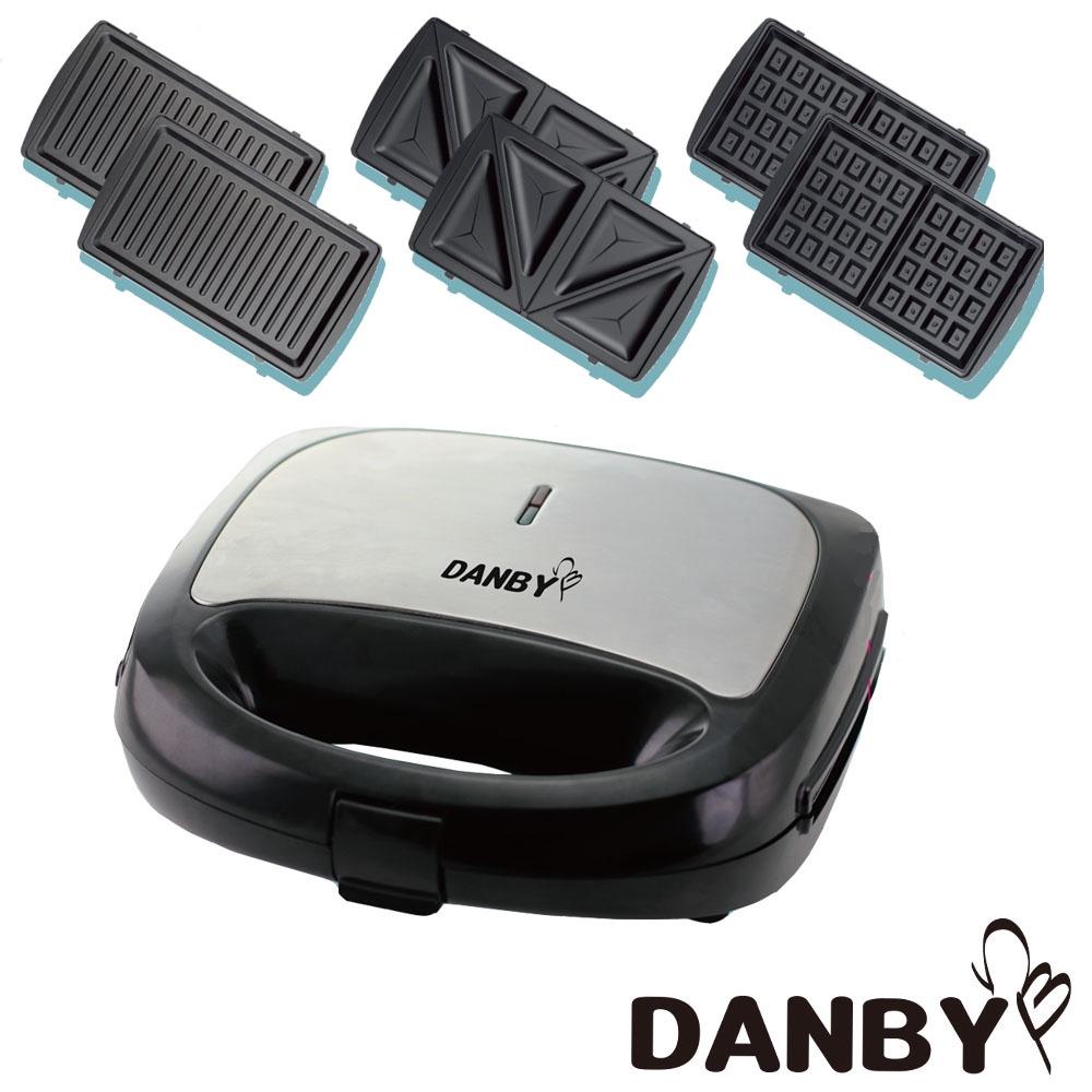 丹比DANBY 可換盤三合一點心機 DB-301WM