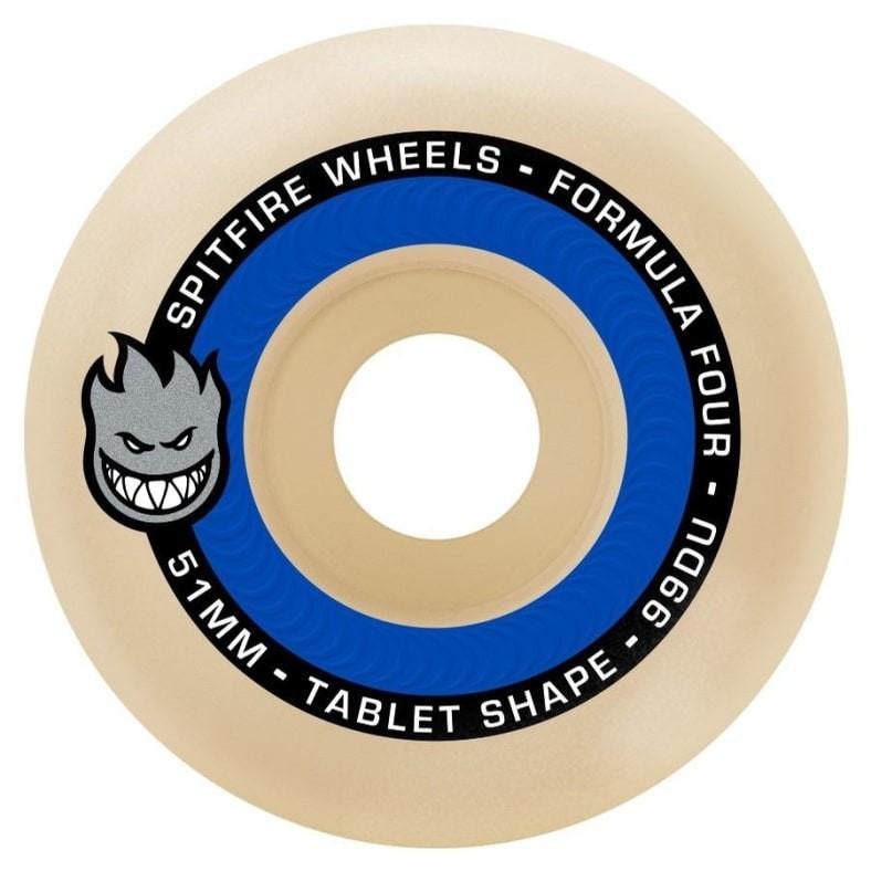 Spitfire F4 Tablets Natural 輪子/滑板《Jimi Skate Shop》