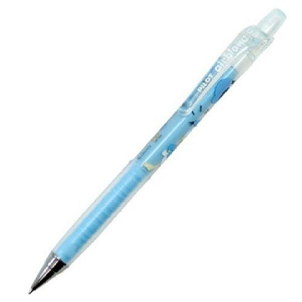 小禮堂 迪士尼 唐老鴨 日製 極細自動鉛筆 自動筆 0.3mm pilot airblanc (藍 星星) 4901770-63453