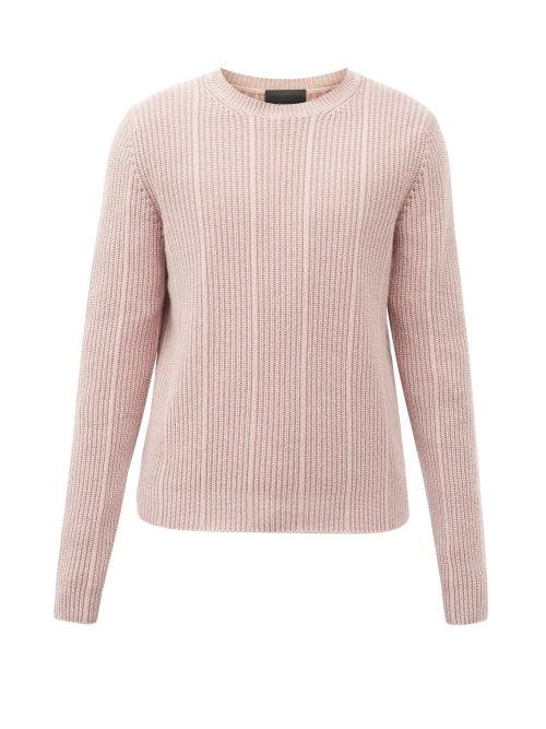 Iris Von Arnim - Arlo Rib-knitted Cashmere Sweater - Mens - Pink