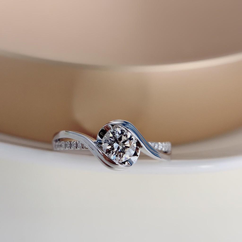 璽朵珠寶 [ 18K金 30分 鑽石 戒指 ] 微鑲工藝 精品設計 鑽石權威 婚戒顧問 婚戒第一品牌 鑽戒 婚戒 GIA