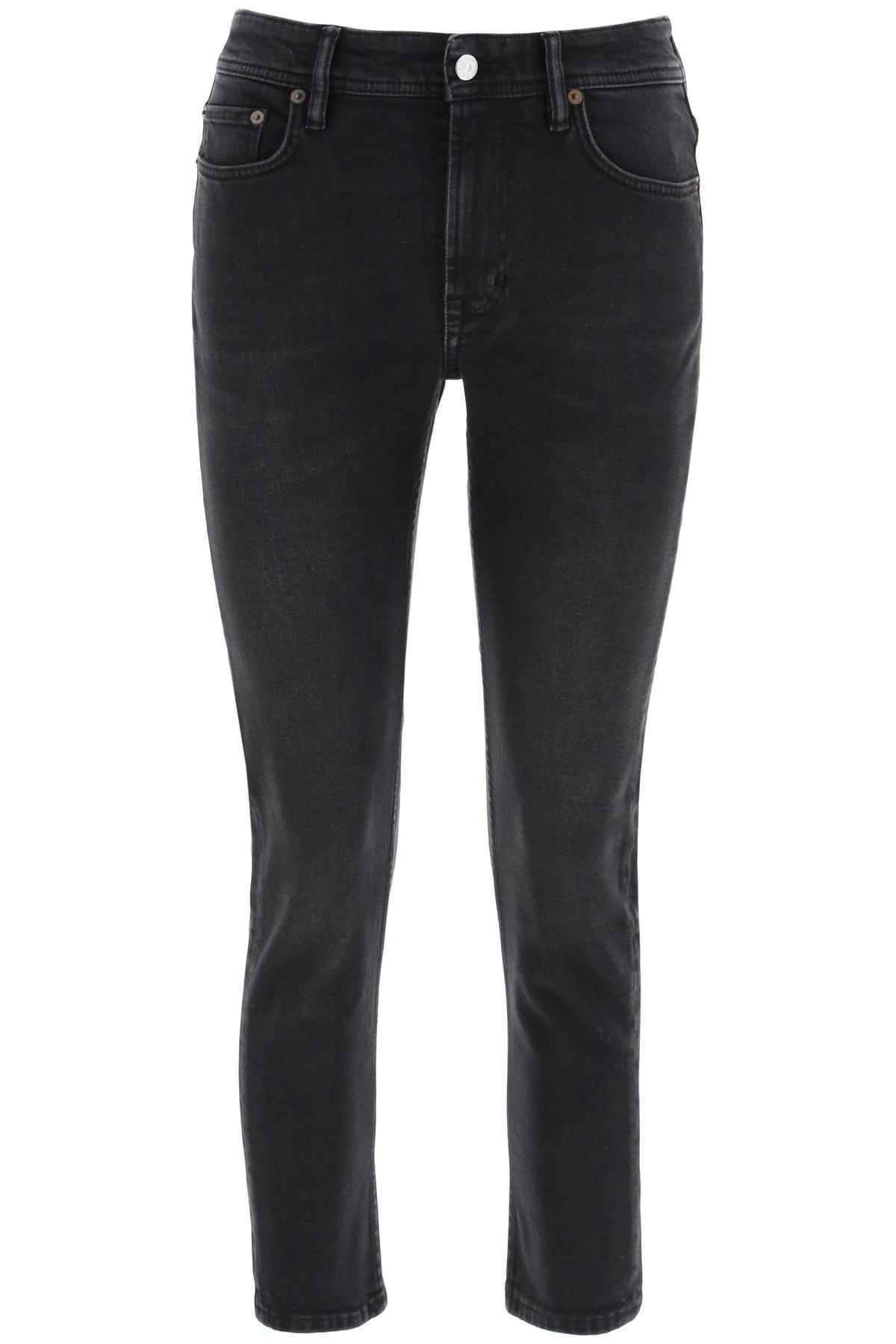 Acne studios melk cropped jeans