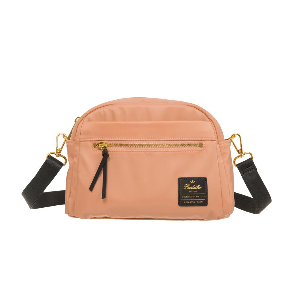 【PARTAKE】D6-2WAY側背包-粉橘 PT19-D6-61CR