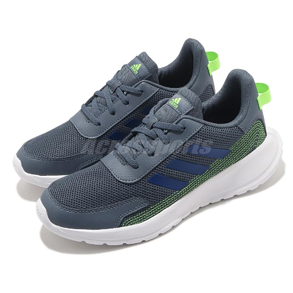 adidas 慢跑鞋 Tensor Run K 藍 綠 大童鞋 女鞋 運動鞋 愛迪達 【ACS】 FV9444