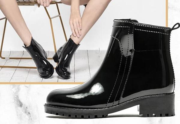 雨鞋 yub雨鞋時尚水鞋套鞋短筒輕便防滑防水雨靴膠鞋成人雨鞋女 南風小鋪