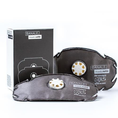 義大利 BANALE 機能防護過濾口罩替芯 (兩組4入) 大人物 - 創意生活設計好物