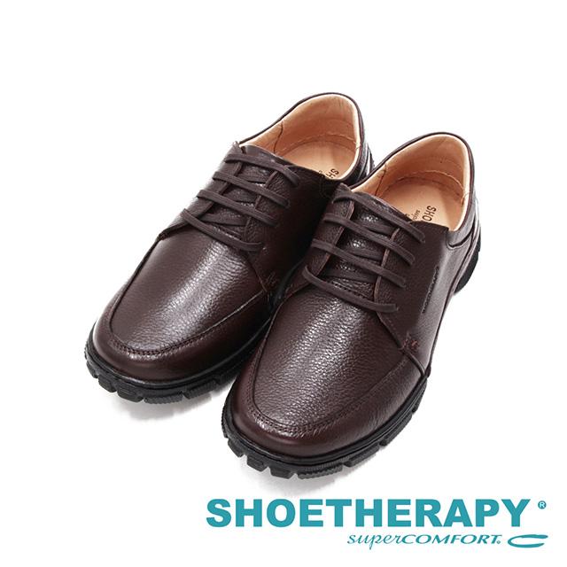 SAPATOTERAPIA巴西經典止滑耐磨皮鞋 男鞋-深咖