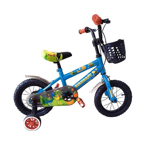 寶貝樂嚴選 12吋小恐龍兒童腳踏車-藍(BTZS09B)