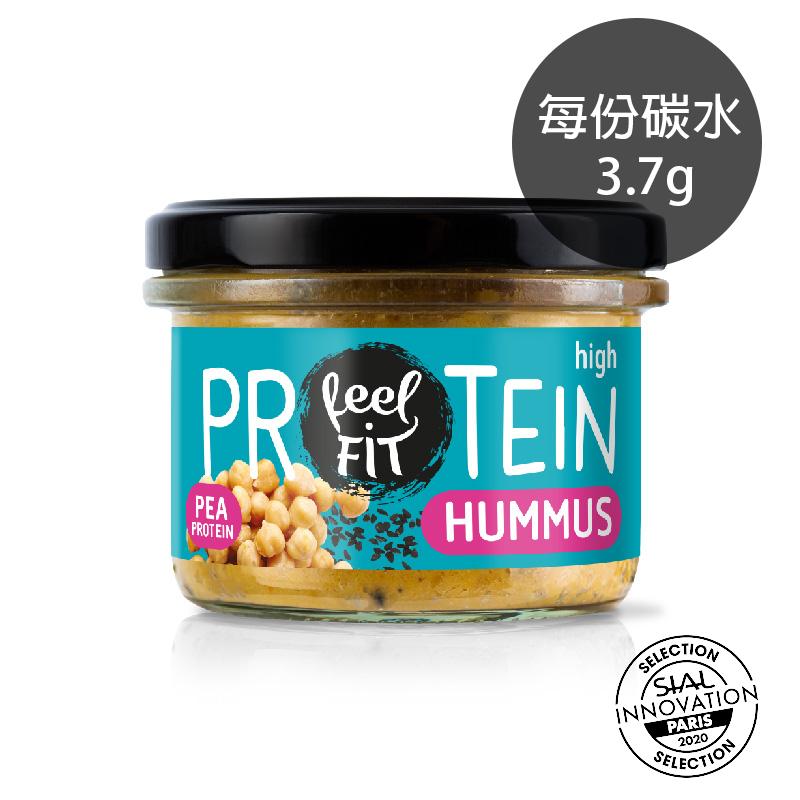 *8%大豆蛋白*[波蘭 Feel Fit] 低碳素食鷹嘴豆抹醬 (185g/罐) (五辛素)