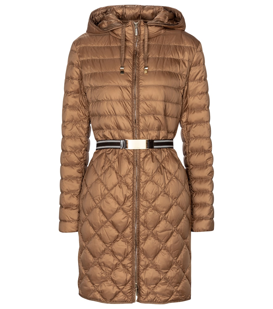 The Cube Etrevi quilted down coat
