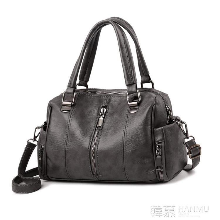中年媽媽包包女新款大容量大氣斜挎手提包韓版