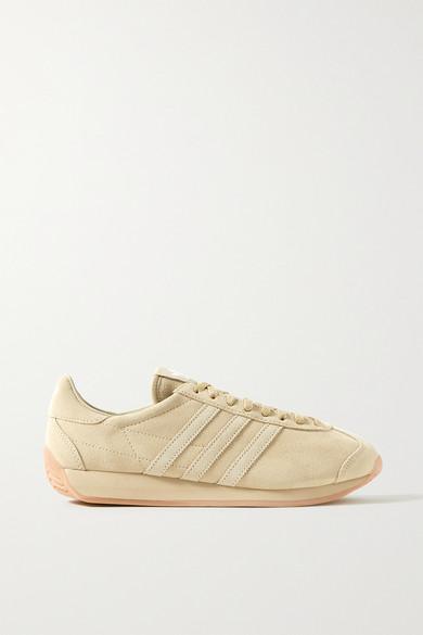 Khaite - X Adidas Originals 绒面革运动鞋 - 米色 - UK8.5