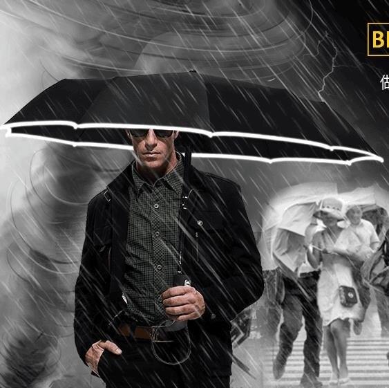 折疊傘全自動雨傘男學生折疊個性創意潮流大號自開自收女晴雨兩用太陽傘