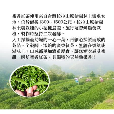 【定迎ITQI得獎茶】蜜香紅茶 菁彩茶葉禮盒20g*1入(外交部指定專用國禮茶)