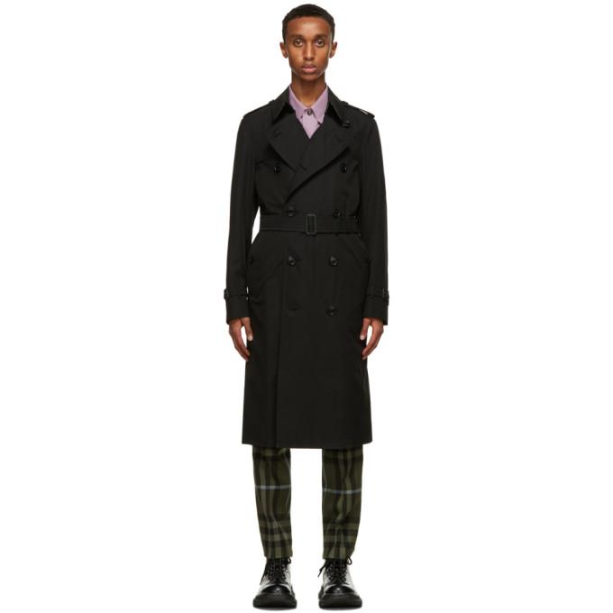 Burberry 黑色 Chelsea Heritage 风衣