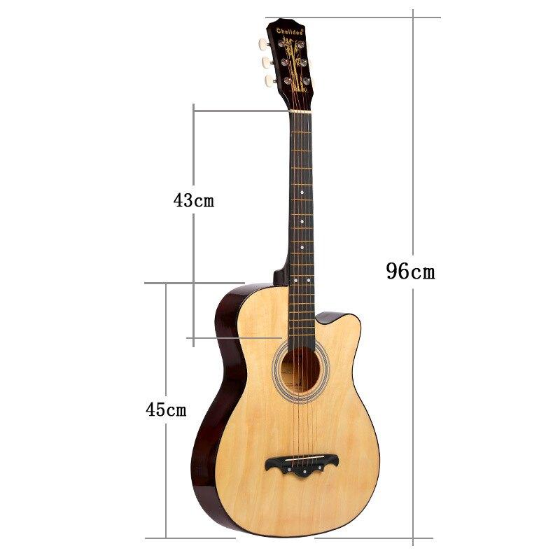 吉他  38寸民謠初學者 入門練習 學生吉他 廠家批發生產JITA 訂制