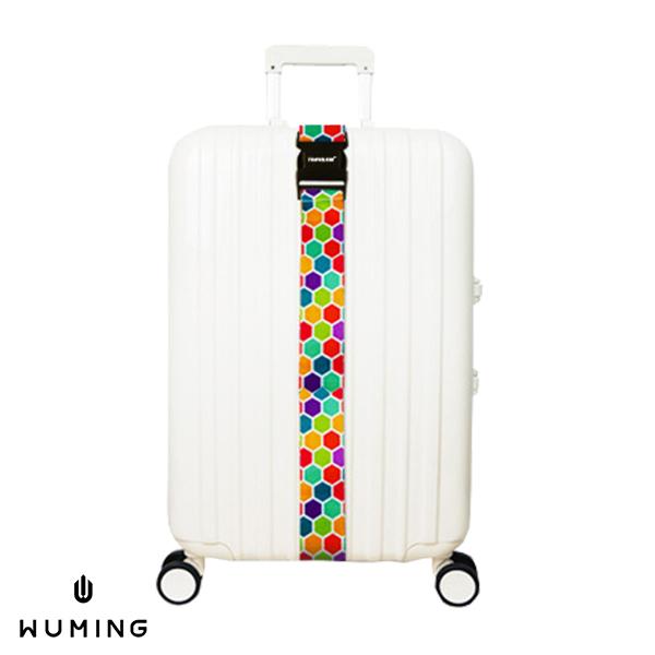 一字型 無密碼 行李箱綁帶 『無名』 M07125