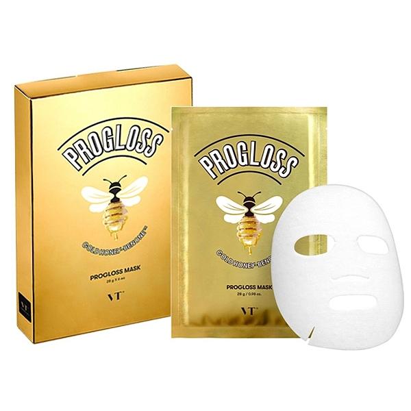 韓國 VT 黃金蜂蜜補水面膜(28gx6片入)盒裝【小三美日】