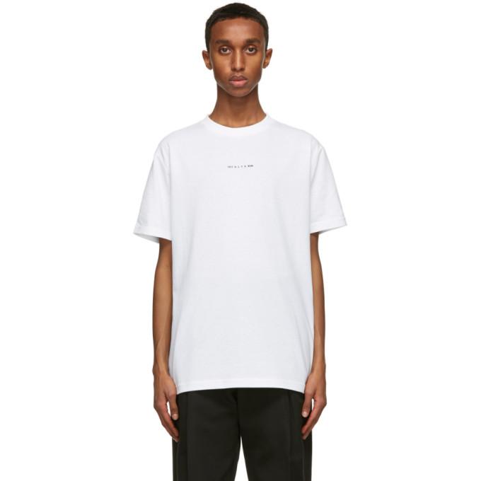 1017 ALYX 9SM 白色 Visual T 恤