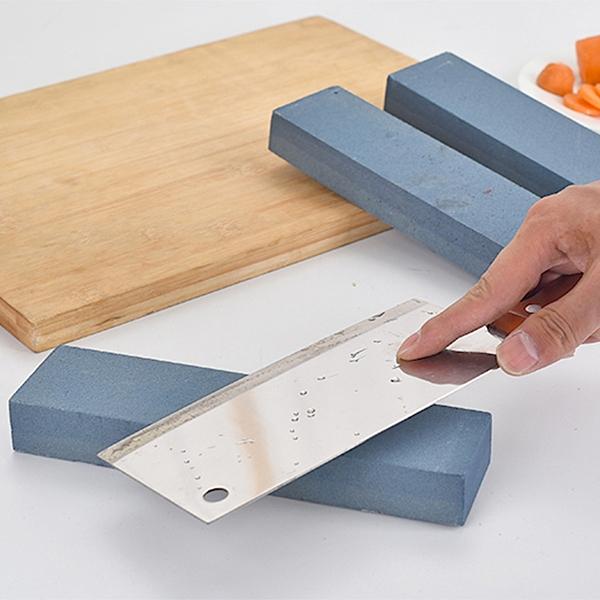 菜刀雙面磨刀石剪刀開刃油石條天然磨石