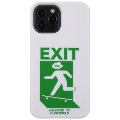 【Candies】Candies x Cloudfield聯名款 緊急滑板出口手機殼(白) - iPhone 12 / 12 Pro