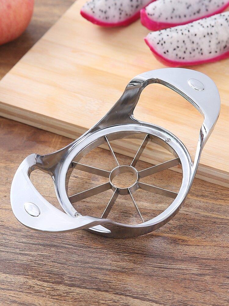 分蘋果神器大號蘋果去核切塊器削蘋果片工具304不銹鋼水果分割器1入