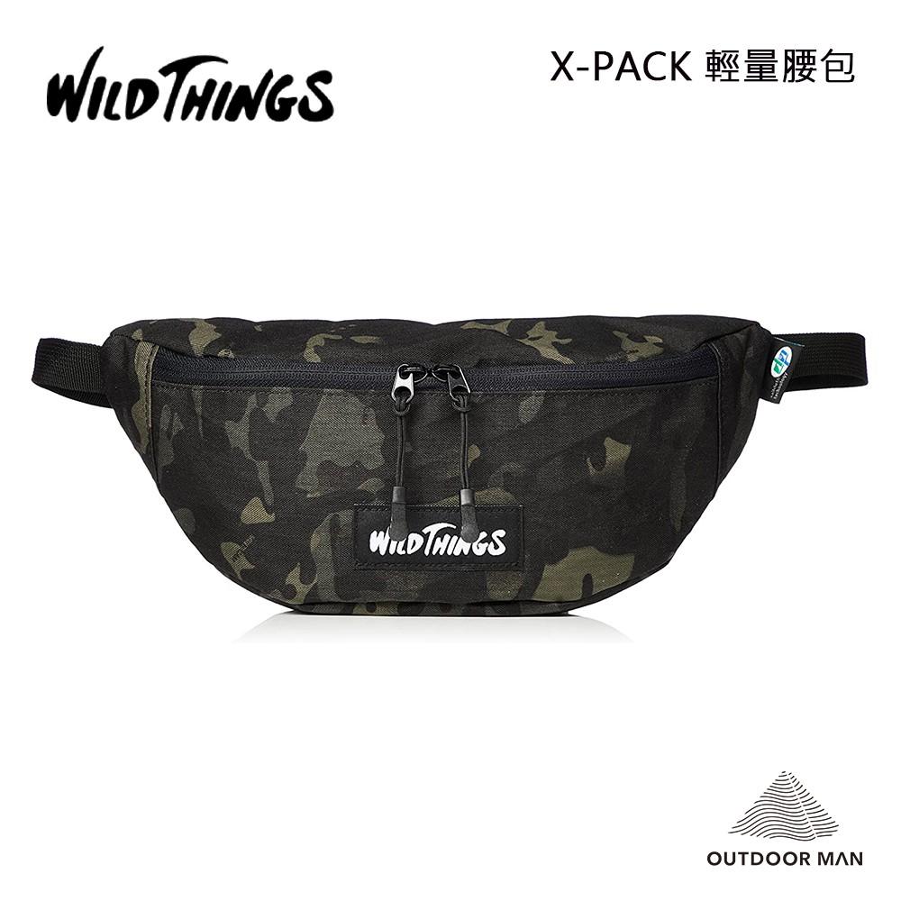 [WILD THINGS] X-PACK 輕量腰包/迷彩黑