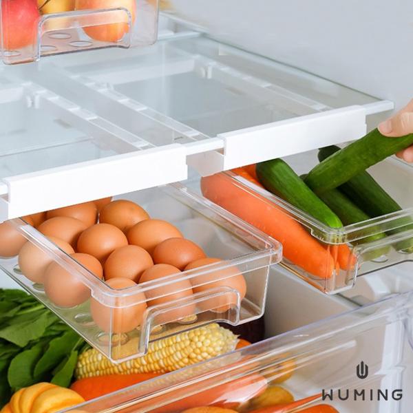 冰箱透明抽屜式收納盒 『無名』 Q08125