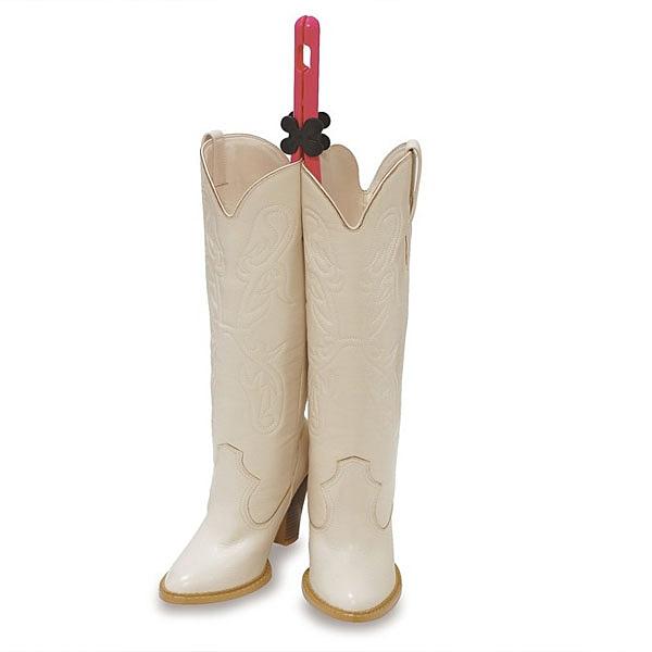 1入日本製 花型馬靴夾OP 可調節長筒靴撐夾 防變形防皺夾鞋 撐高筒靴子【YV8454】BO雜貨