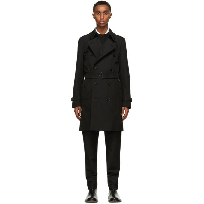 Burberry 黑色 Kensington Heritage 风衣