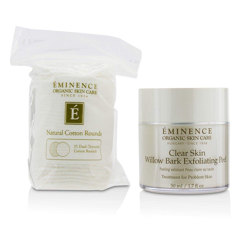源美肌 Eminence - 柳樹皮淨化果酸去角質 Clear Skin Willow Bark Exfoliating Peel (附35片雙層化妝棉)