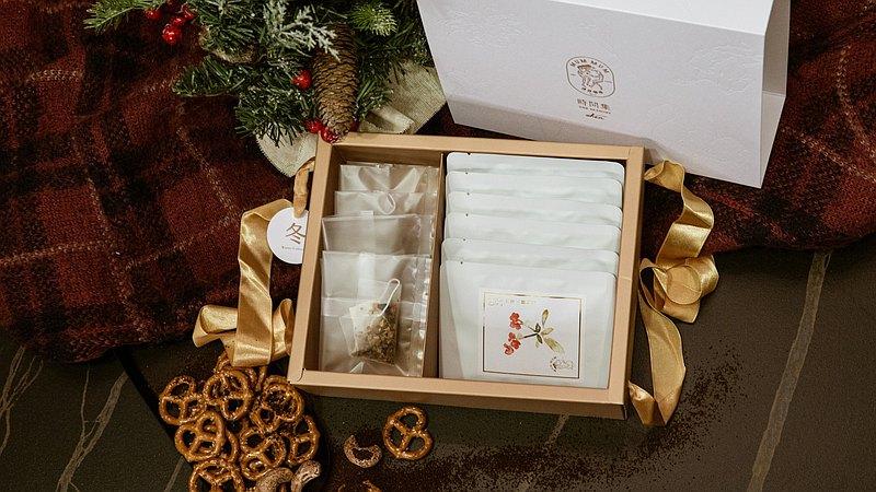 【謬謬咖啡】時間集-冬Winter 精品濾掛咖啡茶禮盒