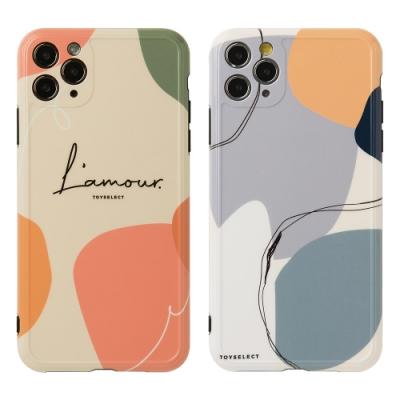 【TOYSELECT】iPhone 11 Smilie藝術時空迴廊手機殼