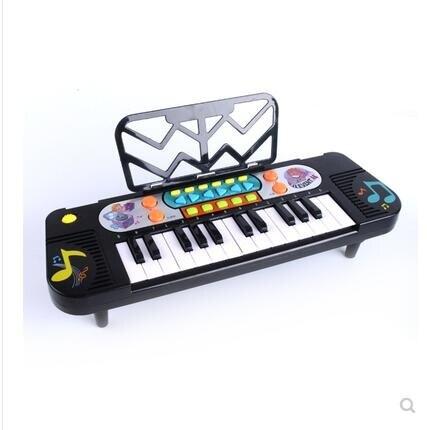 兒童電子琴初學女孩寶寶益智音樂小鋼琴嬰幼兒小男孩玩具琴1-3歲6 DF