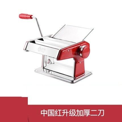 手動壓面機 家用面條機小型多功能壓面機手動不銹鋼餃子餛飩皮機面機