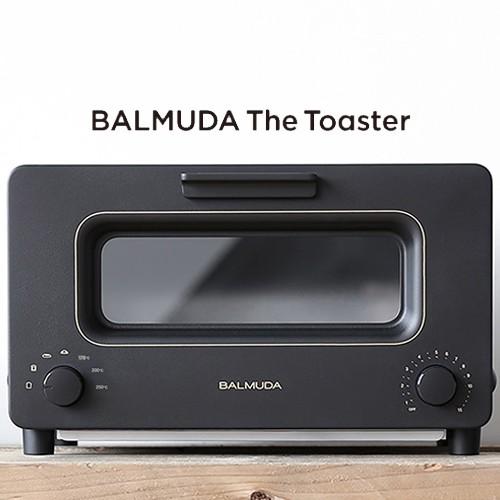 BALMUDA 百慕達 BTT-K01J 蒸氣烤麵包機 The Toaster K01J-KG 黑色