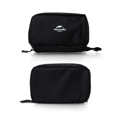 NatureHike 輕便旅行盥洗包-升級版Ⅱ-旅行 收納包 化妝包 吊掛式 6021101 黑湖水綠