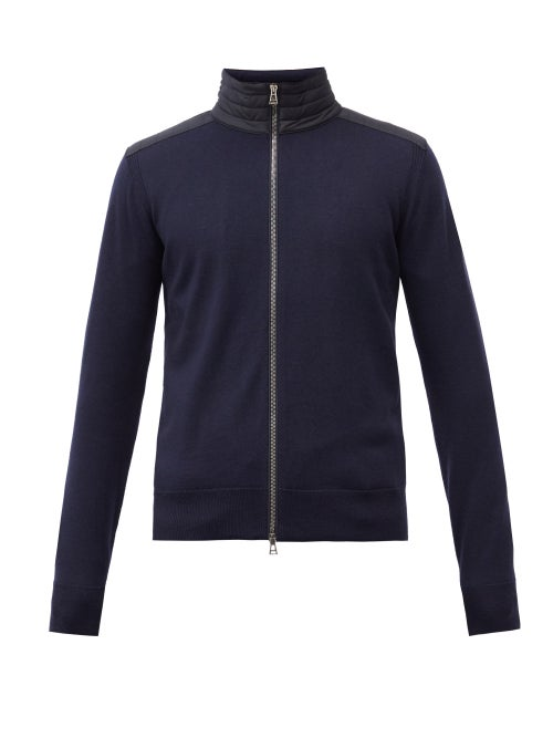 Belstaff - Kelby Wool Zipped Cardigan - Mens - Navy