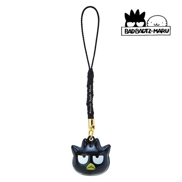 日本限定 三麗鷗 XO 酷企鵝 大臉版 鈴鐺吊飾 / 手機吊飾