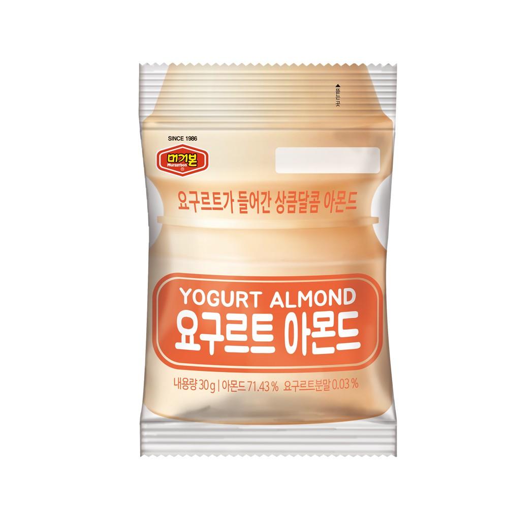韓國 Murgerbon 火爆強檔 親友激推 必買現貨 養樂多杏仁果-單裝包(30g)(即期良品)