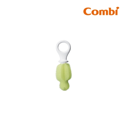 【Combi】海綿奶嘴清潔刷